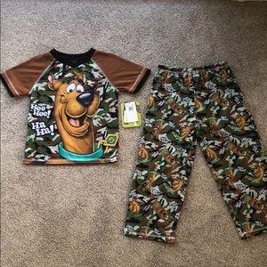 Other - Scooby doo boy pajama set
